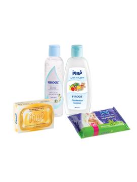 تصویر از پک محصولات ضدعفونی و بهداشتی فردی