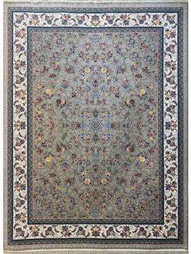 Picture of فرش 700 شانه نقشه گلپری زمینه فیلی