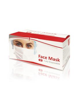 تصویر از ماسک سه لایه بسته بندی 50 عددی