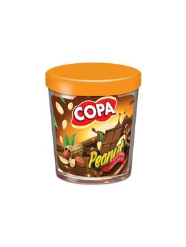 تصویر از شکلات صبحانه بادام زمینی شیشه ای 220g کوپا - شرینک 6 عددی