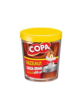 تصویر از شکلات صبحانه فندقی شیشه ای 220g کوپا - شرینک 6 عددی