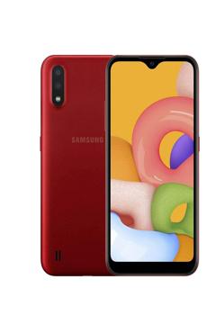 Picture of گوشی موبایل سامسونگ مدل Galaxy A01 SM-A015F/DS دو سیم کارت ظرفیت 16 گیگابایت